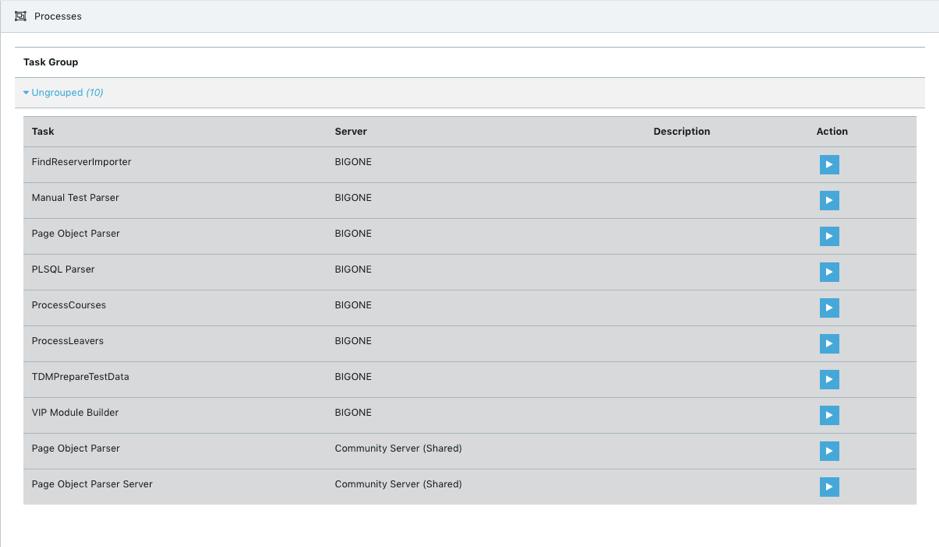 API Test Data Catalogue