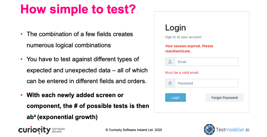 Logical Test Complexity